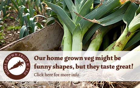 Click for info on our homegrown vegtables